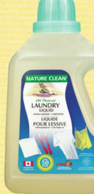 Nature Clean Liquid Laundry Detergent
