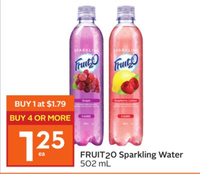 Fruit20 Sparkling Water