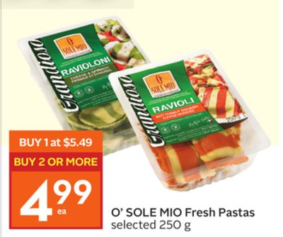 O' Sole Mio Fresh Pastas