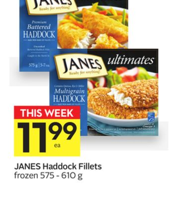 Janes Haddock Fillets