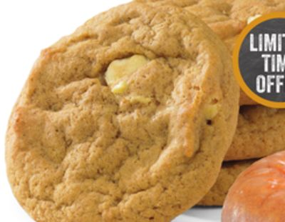 Pumpkin Cream Cheese Chip Cookies