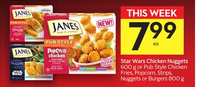 Star Wars Chicken Nuggets