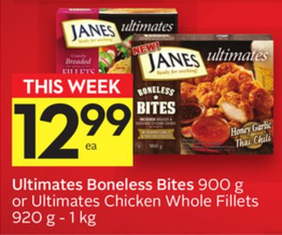 Ultimates Boneless Bites