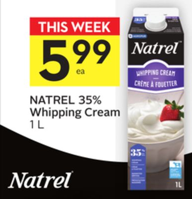 Natrel 35% Whipping Cream