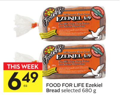 Food For Life Ezekiel Bread