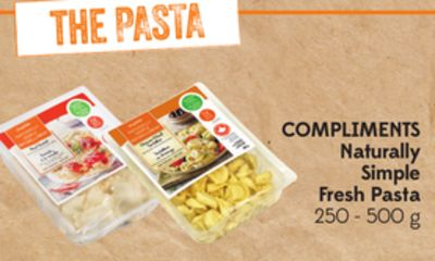 Compliments Naturally Simple Fresh Pasta 250 - 500 g