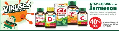 Jamieson Cold And Flu Products