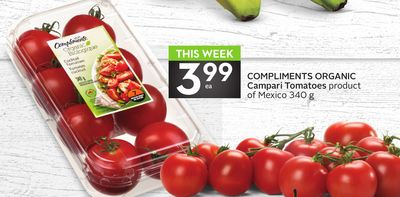 Compliments Organic Campari Tomatoes