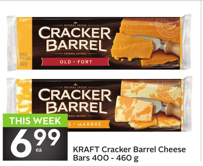 Kraft Cracker Barrel Cheese Bars