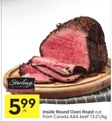 how to cook an inside round boneless oven roast