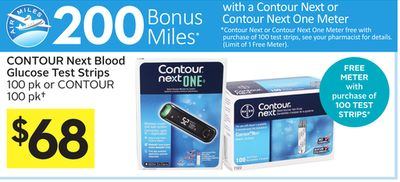 Contour blood glucose test strips coupons