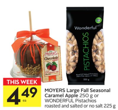Moyers Large Fall Seasonal Caramel Apple