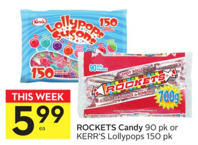 Rockets Candy