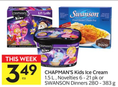 Chapman's Kids Ice Cream