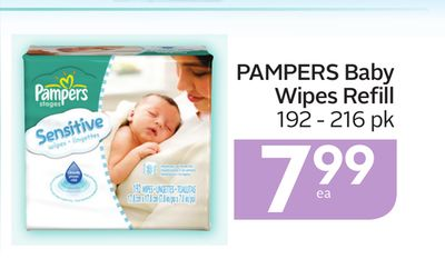 Pampers Baby Wipes Refill