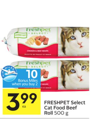Freshpet Select Cat Food Coupons
