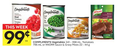 Compliments Vegetables