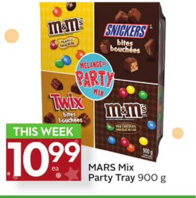 Mars Mix Party Tray