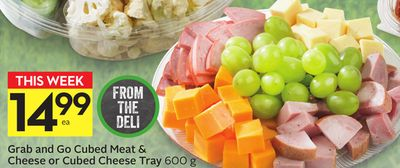 Grab and Go Cubed Meat & Cheese or Cubed Cheese Tray