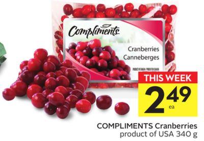 Compliments Cranberries