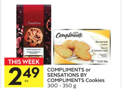 Compliments or Sensations By Compliments Cookies