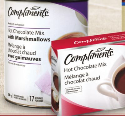 Compliments Hot Chocolate