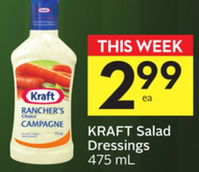Kraft Salad Dressings