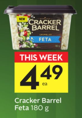 Cracker Barrel Feta
