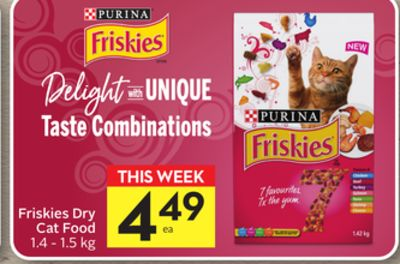 Purina Friskies Dry Cat Food-50 Airmiles
