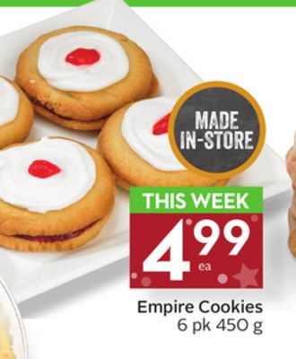 Empire Cookies