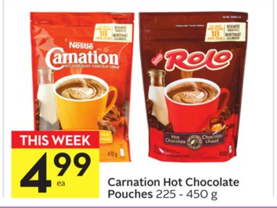 Carnation Hot Chocolate Pouches