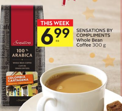 Sensations By Compliments Whole Bean Coffee