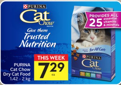 Purina Cat Chow Dry Cat Food - 50 Airmiles