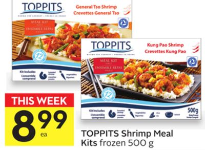 Toppits Shrimp Meal