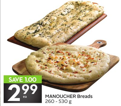 Manoucher Breads