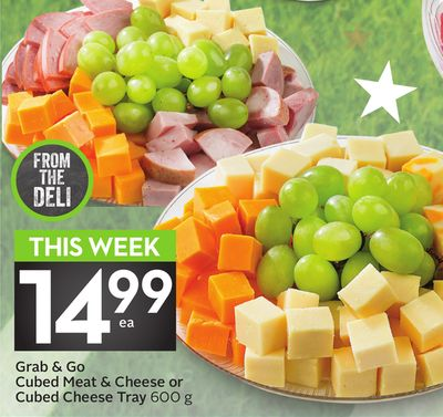 Grab & Go Cubed Meat & Cheese or Cubed Cheese Tray