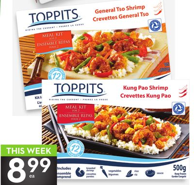 Toppits Shrimp Meal Kits