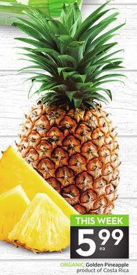 Organic Golden Pineapple