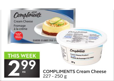 Compliments Cream Cheese