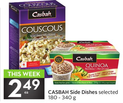 Casbah Side Dishes