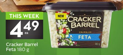 Cracker Barrel Feta 180 g