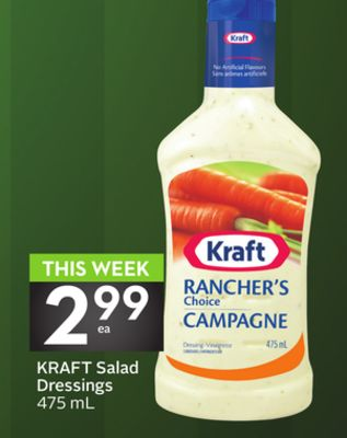 Kraft Salad Dressings 475 mL