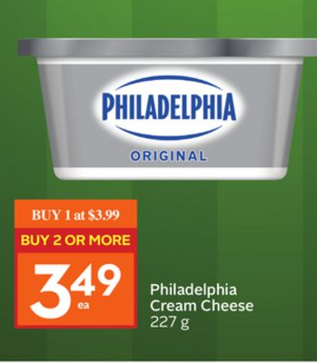 Philadelphia Cream Cheese 227 g