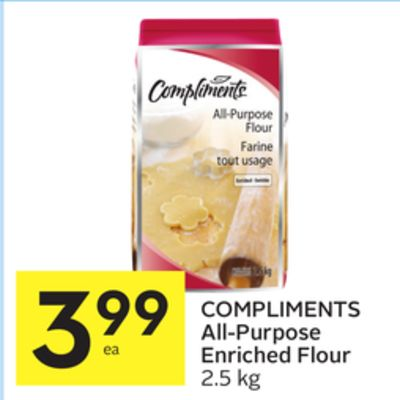 Compliments all purpose enriched on sale for Anrichte flur