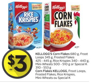Corn flakes coupons 2018