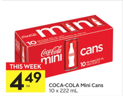Coca-cola Mini Cans