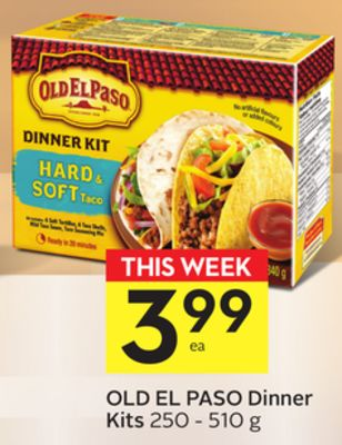 Old El Paso Dinner Kits