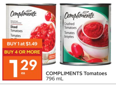 Compliments Tomatoes