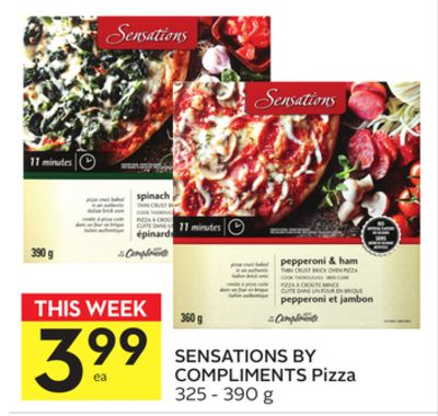 Sensations By Compliments Pizza