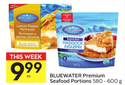 Bluewater Premium Seafood Portions